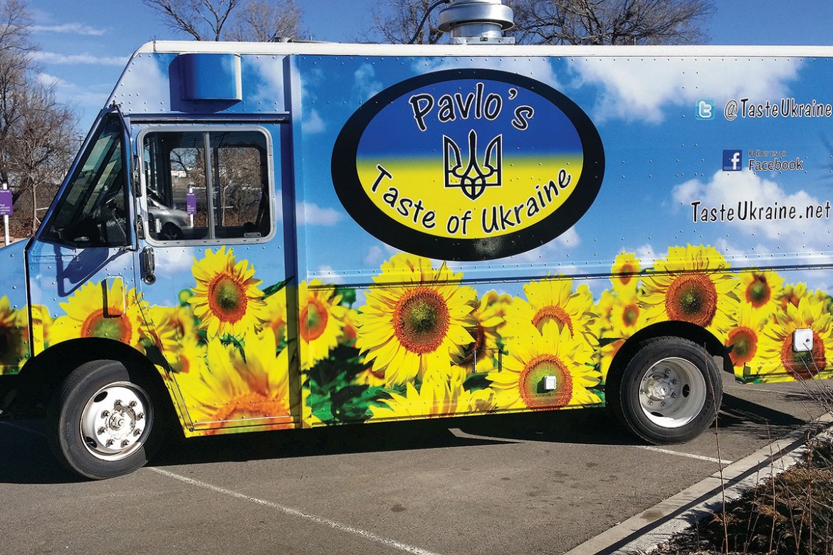 Denver Food Truck Offers Taste Of Ukraine