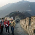 Climbing the Great Wall of China was on everyone's bucket list.