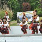 Dancers perform at the Lemko Vatra 2016.