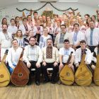 The Kobzarska Sich concert on Sunday, August 20, 2016.