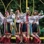 The Bridesmaids' Dance, performed by Ukrainian Folk Dance Workshop participants.