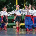 At the Ukrainian Festival in 2016, Roman and Stephanie Milan of the Kazka Ukrainian Folk Ensemble dance in the Hopak.
