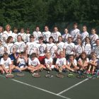 Participants of the 2016 Soyuzivka Tennis Camp.