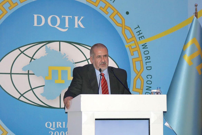 The president of the World Congress of Crimean Tatars, Refat Chubarov.
