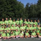 Participants of the 2015 Soyuzivka Tennis Camp.