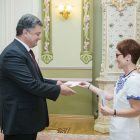 "KYIV – President Petro Poroshenko on August 30 accepted a letter of credence from the new U.S. ambassador to Ukraine, Marie L. Yovanovitch. He congratulated Ambassador Yovanovitch on the beginning of her mission to Ukraine, noting that he relies on her previous experience of work in Kyiv in 2001-2005. Mr. Poroshenko also expressed gratitude to the United States for political, financial and military-technical assistance in Ukraine's struggle against Russian aggression. ""We count on further efficient cooperation,"" the president added. In turn, the new envoy said she was planning to preserve and enhance that support. ""In the last two years, Ukraine has achieved significant progress. And now we have great opportunities to continue these changes. The U.S. is a reliable friend and supports Ukraine and its reforms,"" Ambassador Yovanovitch stated."