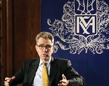 U.S. Ambassador to Ukraine Geoffrey Pyatt spoke on March 11 at the National University of Kyiv-Mohyla Academy about the future of U.S.-Ukraine relations.