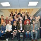 The Board of Directors of the Ukrainian Canadian Congress meeting at its strategic planning session in Toronto.