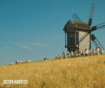 Before filming began, director George Mendeluk traveled to the Ukrainian countryside in order to capture traditional wheat reaping to preserve the film's authentic feel.