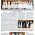 A page from the Ukrainian Debutante Balls section printed in The Weekly's April 3 issue.