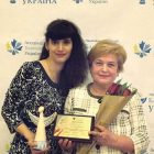 At the Charitable Ukraine competition's awards ceremony in Kyiv,  representing the Ukrainian National Women's League of America were Dr. Maria Furtak, UNWLA representative for social welfare in Ukraine, and Olena Vlasenko, president of the Zhytomyr branch of the Ukrainian Women's League of Ukraine.