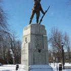 The Great War Memorial in City Park, Kingston, Ontario.