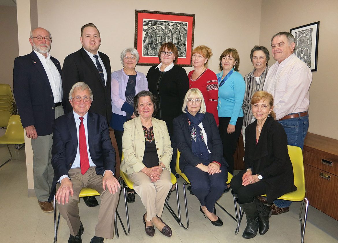 UNA'ers gathered for the annual meeting of the New Jersey District Committee.