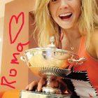 Elina Svitolina with her Italian Open trophy.