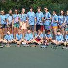 Participants of the Soyuzivka Tennis Camp 2017.