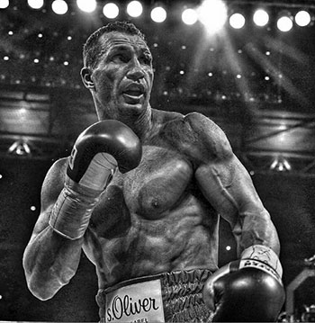 Wladimir Klitschko during his last fight against Anthony Joshua.