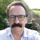 Lubomyr Luciuk on the eastern front in the Donbas on July 18.