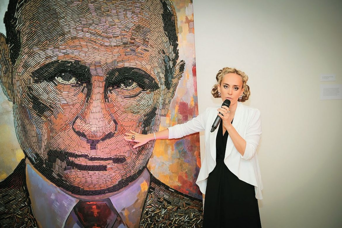 "Daria Marchenko and ""The Face of War."""