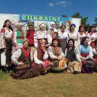 The authentic Ukrainian Fashion Show organized by Lyudmila Shefel.