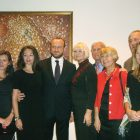 Representatives of the Ukrainian National Association, the Ukrainian National Foundation and Soyuzivka Heritage Center with Ukraine's departing consul general of New York and his wife: (from left) Yuriy and Nataliya Symczyk, Natalia and Igor Sybiga, Roma Lisovich, Stefan and Swiatoslawa Kaczaraj, and Nestor and Petrusia Paslawsky.