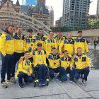 Team Ukraine in Toronto, where the 2017 Invictus Games were held on September 23-30.