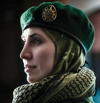 Odesa-born Amina Okuyeva, 34, an ethnic Chechen, Donbas war veteran and overt critic of Russian President Vladimir Putin, was fatally shot in the head on October 30 in Kyiv Oblast, allegedly on the orders of the Kremlin.