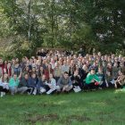 Participants of the Plast Merit Badge Weekend, including scout, counselors and parent volunteers.