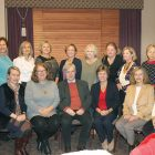 Andrew Stuttaford with New Jersey members of Ukrainian National Women's League of America.