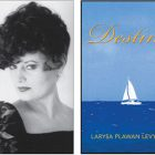 Author Larysa Plawan Levycky (in an undated photo) and the cover of her new book.