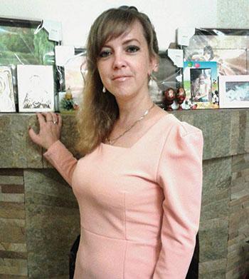 Iryna Nozdrovska in a photo from Facebook.