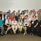 Participants of the symposium on the Holodomor at California State University, Fresno.
