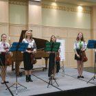 Violin Ensemble (Oksana Konopada, director), which won an award in the violin category.