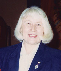 Stefaniya Shabatura in a file photo from the late 1980s