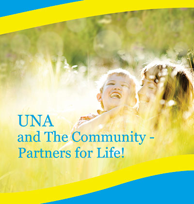 The cover of the UNA's summer 2013 magazine, which was released at the start of the summer festival season.