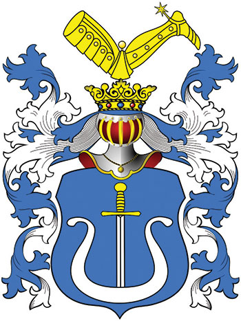 Coat of arms of Hetman Pylyp Orlyk.