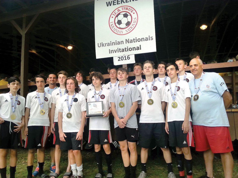 U-15 champions: Ukrainian Nationals Chornomorets Red.