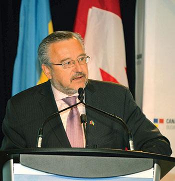 Zenon Potoczny, president of the Canada-Ukraine Chamber of Commerce.