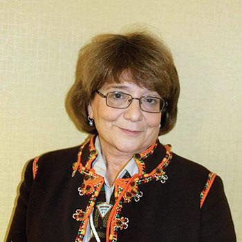 Marta Kuzmowycz, world leader of Plast.