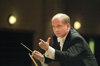 Theodore Kuchar, the symphony's first artistic director and principal conductor, who is currently the conductor laureate.