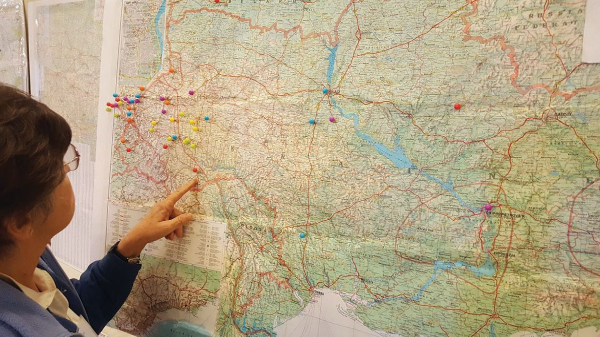 """""""Pin your ancestral village"""" was the task assigned to participants of the genealogy conference held on November 4-5 by the Our Ancestors Family History Group – the Nashi Predky Initiative – at the Ukrainian Historical and Educational Center of New Jersey in Somerset."""