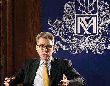 U.S. Ambassador to Ukraine Geoffrey Pyatt spoke on March 11 at the National University of Kyiv-Mohyla Academy about the future of U.S.-Ukraine relations.