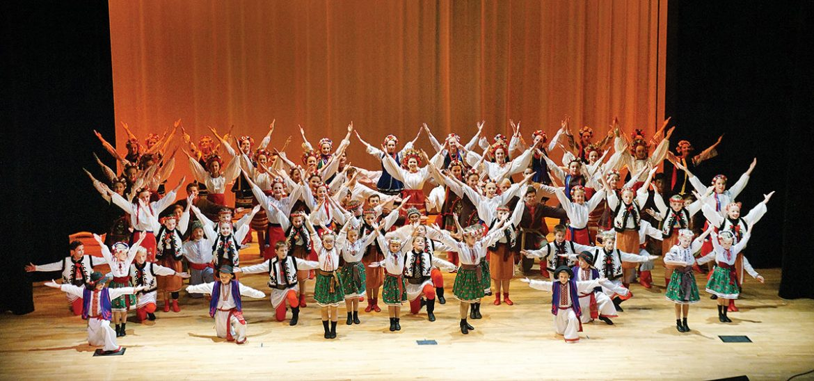 """The Iskra Ukrainian Dance Academy and the Iskra Ukrainian Dance Ensemble that emerged from it, celebrated 20 years of educating youngsters and delighting audiences with their productions of Ukrainian folk dance. """"A Celebration in Dance,"""" was presented on October 16 at the College of St. Elizabeth in Morris Township, N.J."""