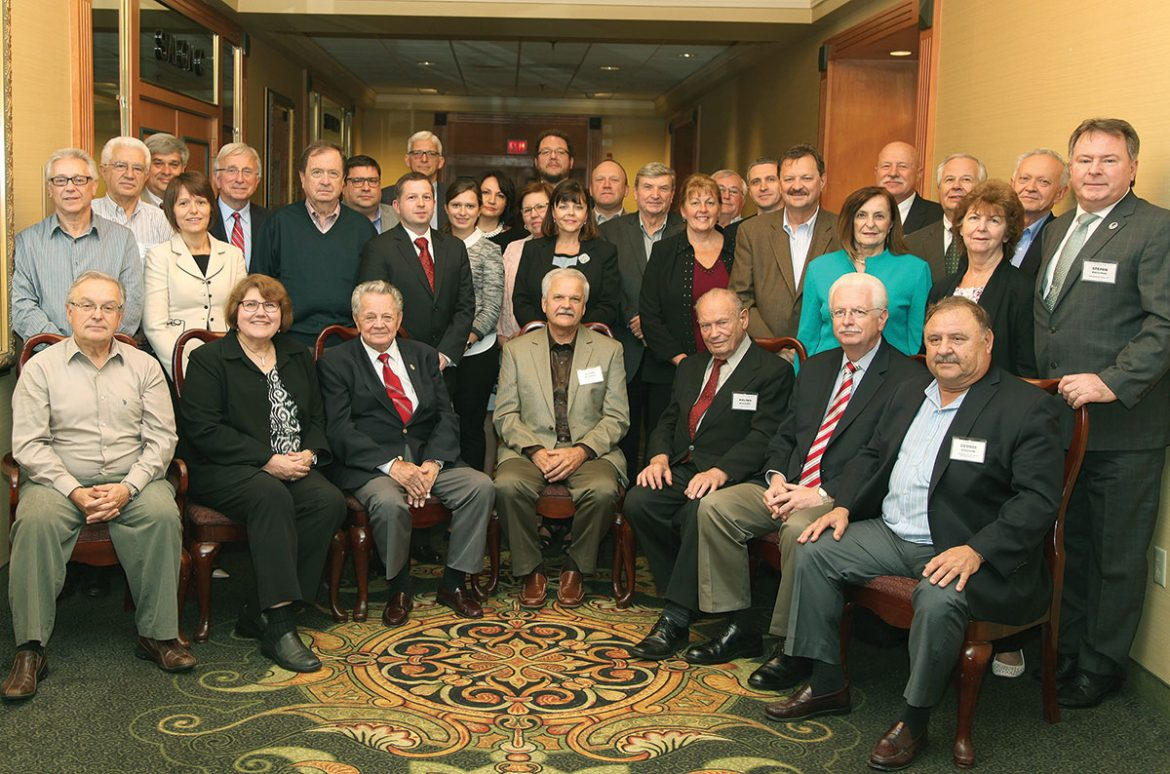 Participants of the 2016 Ukrainian National Credit Union Association annual meeting in Somerset, N.J., on September 30-October 1.