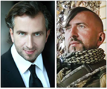 Vasyl Slipak, a Ukrainian opera singer who left the Paris National Opera in 2014 to fight Russia-backed militants in eastern Ukraine was killed on June 29 by sniper fire.