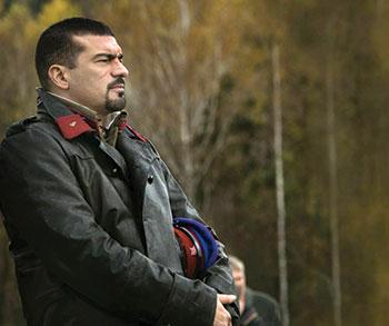 """Tamer Hassan in """"Bitter Harvest."""""""