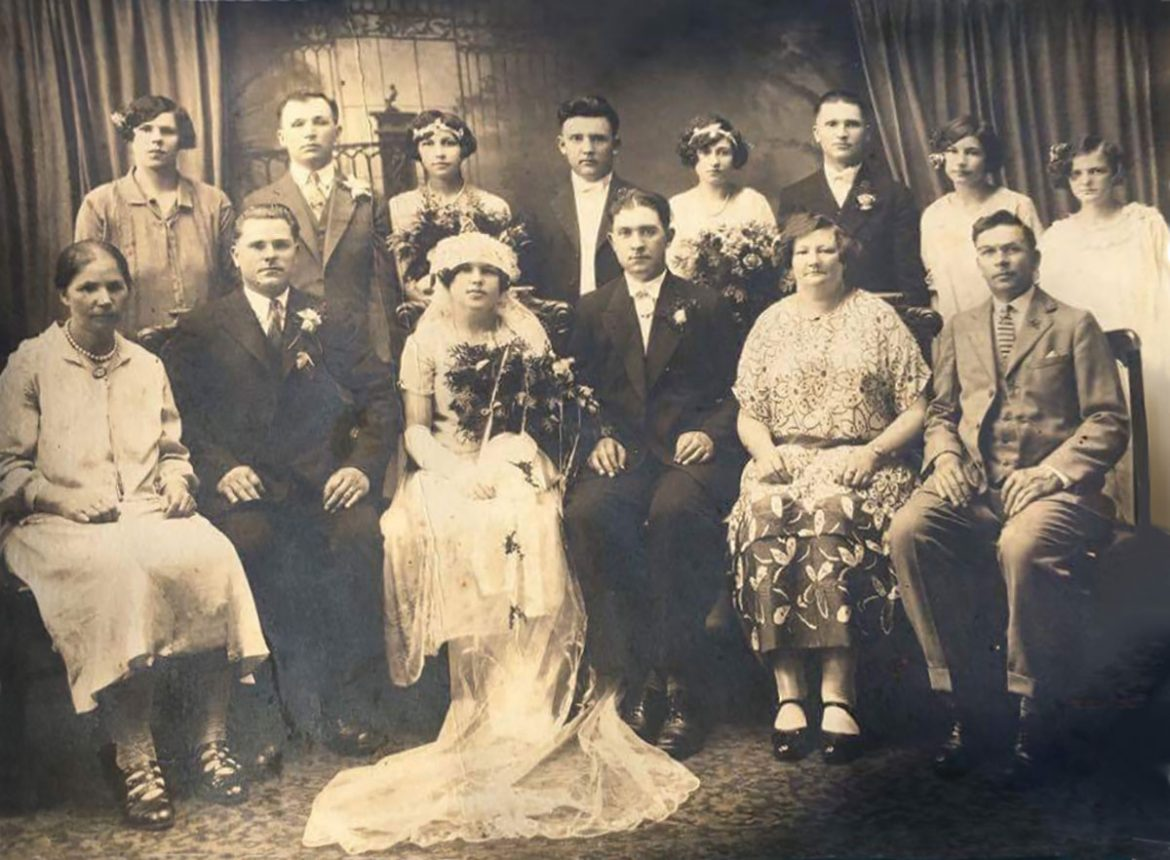 A picture dated June 12, 1926, of Greg Stricharchuk's father, Josip Stricharchuk, during his first marriage. The photo was unearthed this spring during Greg Stricharchuk's trip to Belarus to visit his relatives.