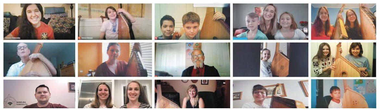 Screenshots from Bandura Online Hangouts