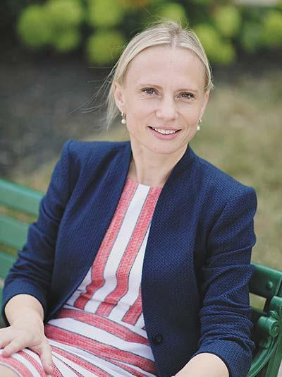 First Ukrainian-born member of the U.S. Congress, Viktoria Spartz